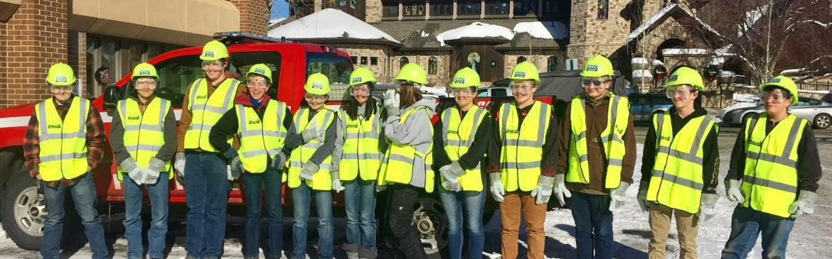 MyPI Students Learn About Fire Services